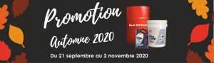 Sonic - Promotion automne 2020